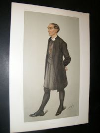 Vanity Fair Print 1901 Bishop Arthur Ingram of London